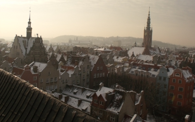 Gdańsk z góry