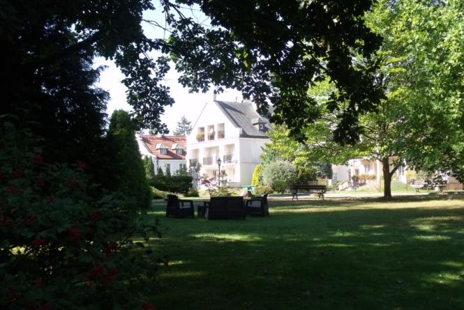 Ogród Domu Artystów w Skolimowie