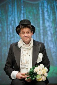 Wojciech Malajkat na scenie