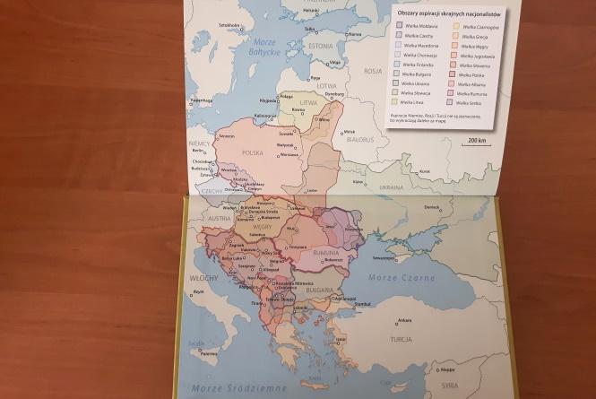 Mapa Międzymorza
