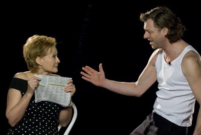 Scenki małżeńskie Grodzieńskiej w teatrze