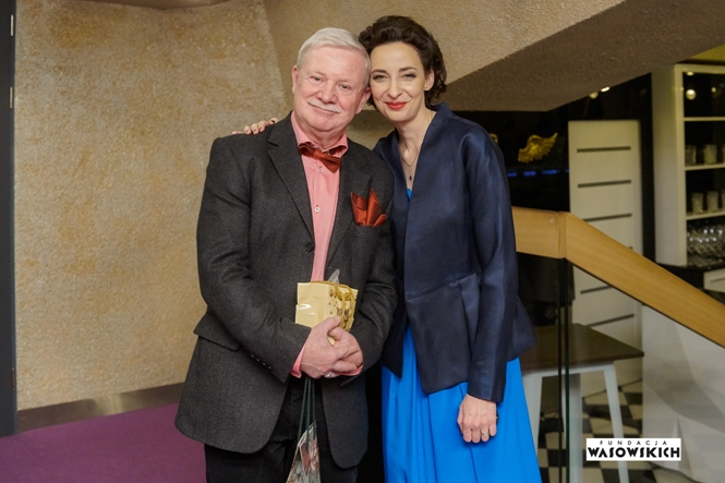 Grzegorz Wasowski i Klementyna Umer