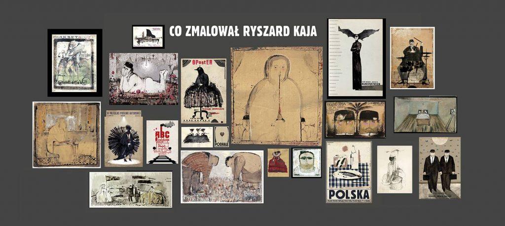 Co zmalował Ryszard Kaja