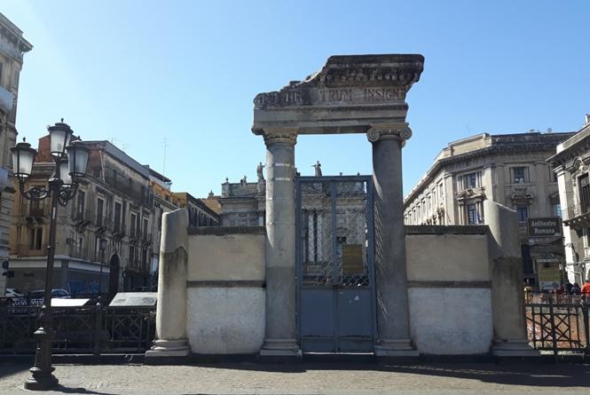 Anfiteatro Romano w Katanii