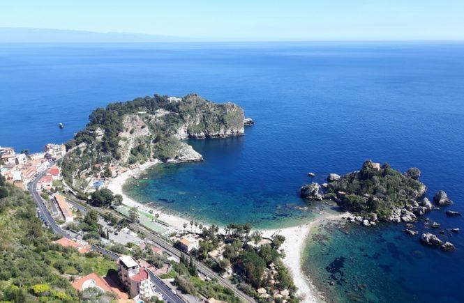Katania, Syrakuzy i Taormina