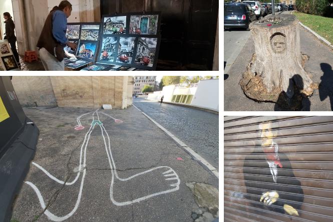 Street art w Rzymie