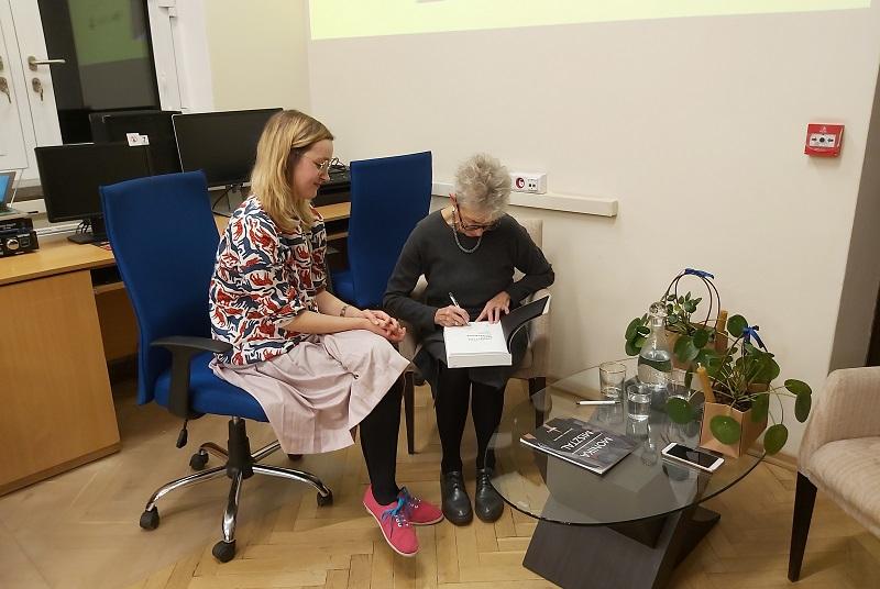 Anda Rottenberg i Marta Popławska