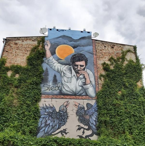 mural Edwarda Stachury