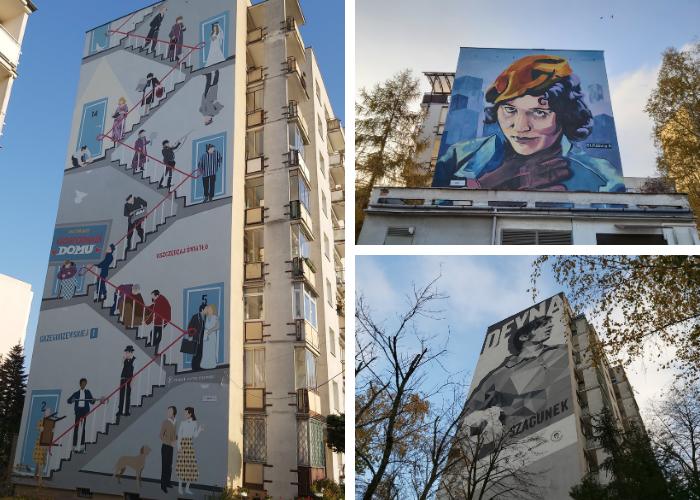 ursynowskie murale