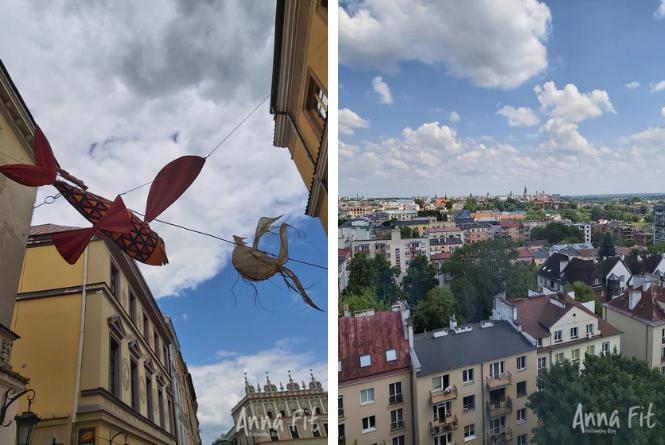 Lublin Noc Kultury 2021 i panorama Lublina